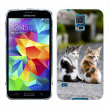 Husa Samsung Galaxy S5 G900 G901 Plus G903 Neo Silicon Gel Tpu Model Kitties