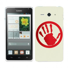 Husa Huawei Ascend Y530 Silicon Gel Tpu Model Stop Hand - Husa Telefon