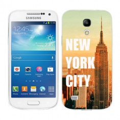 Husa Samsung Galaxy S4 Mini i9190 i9195 Silicon Gel Tpu Model New York - Husa Telefon