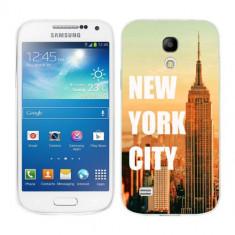 Husa Samsung Galaxy S4 Mini i9190 i9195 Silicon Gel Tpu Model New York - Husa Telefon