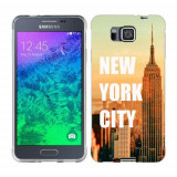 Husa Samsung Galaxy Alpha G850F Silicon Gel Tpu Model New York