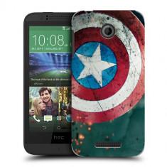 Husa HTC Desire 510 Silicon Gel Tpu Model Captain America - Husa Telefon