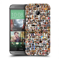 Husa HTC One M8 Silicon Gel Tpu Model Small Portraits - Husa Telefon