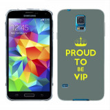 Husa Samsung Galaxy S5 G900 G901 Plus G903 Neo Silicon Gel Tpu Model Vip