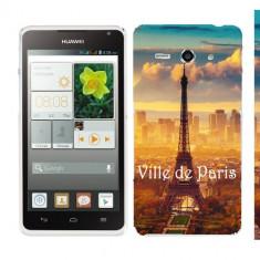 Husa Huawei Ascend Y530 Silicon Gel Tpu Model Paris - Husa Telefon