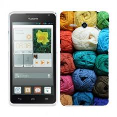Husa Huawei Ascend Y530 Silicon Gel Tpu Model Ghem Ata Colorata - Husa Telefon