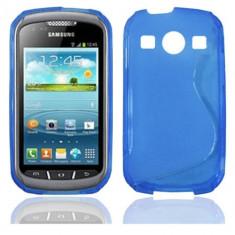 Husa Samsung S7710 Galaxy Xcover 2 Silicon Gel Tpu S-Line Albastra