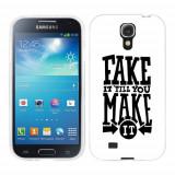 Husa Samsung Galaxy S4 i9500 i9505 Silicon Gel Tpu Model Fake It