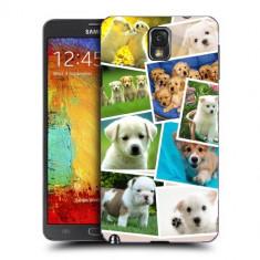 Husa Samsung Galaxy Note 3 N9000 N9005 Silicon Gel Tpu Model Puppies Collage - Husa Telefon