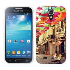 Husa Samsung Galaxy S4 i9500 i9505 Silicon Gel Tpu Model Vintage Umbrella - Husa Telefon