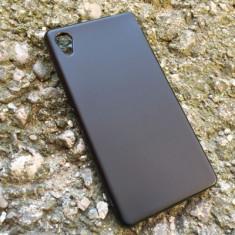 Husa SONY Xperia M4 Aqua Silicon Gel Tpu Matte Neagra - Husa Telefon