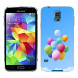 Husa Samsung Galaxy S5 G900 G901 Plus G903 Neo Silicon Gel Tpu Model Baloons