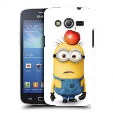 Husa Samsung Galaxy Core 4G LTE G386F Silicon Gel Tpu Model Minions - Husa Telefon