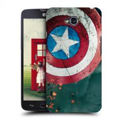 Husa LG L70 Silicon Gel Tpu Model Captain America - Husa Telefon
