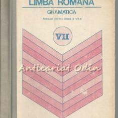 Limba Romana. Manual Pentru Clasa a VII-a - Ion Popescu - Dictionar