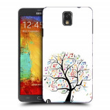 Husa Samsung Galaxy Note 3 N9000 N9005 Silicon Gel Tpu Model Music Tree