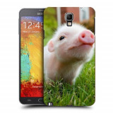 Husa Samsung Galaxy Note 3 Neo N7505 Silicon Gel Tpu Model Little Pig