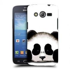 Husa Samsung Galaxy Core 4G LTE G386F Silicon Gel Tpu Model Panda Trist - Husa Telefon