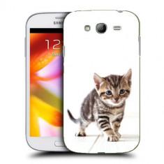 Husa Samsung Galaxy Grand Neo i9060 i9080 i9082 Silicon Gel Tpu Model Pisicuta - Husa Telefon