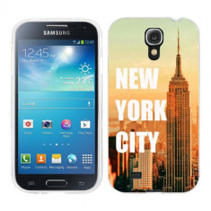 Husa Samsung Galaxy S4 i9500 i9505 Silicon Gel Tpu Model New York - Husa Telefon