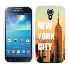 Husa Samsung Galaxy S4 i9500 i9505 Silicon Gel Tpu Model New York - Husa Telefon