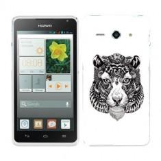 Husa Huawei Ascend Y530 Silicon Gel Tpu Model Tiger Abstract - Husa Telefon