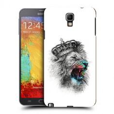 Husa Samsung Galaxy Note 3 Neo N7505 Silicon Gel Tpu Model The King