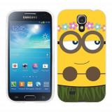 Husa Samsung Galaxy S4 i9500 i9505 Silicon Gel Tpu Model Minion Girl