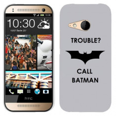 Husa HTC One Mini 2 M8 Mini Silicon Gel Tpu Model Batman