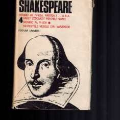 Shakespeare- Opere complete vol 4, Henric al IV-lea /V-lea, Mult zgomot pt nimic