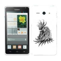 Husa Huawei Ascend Y530 Silicon Gel Tpu Model Cocos Abstract - Husa Telefon