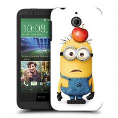 Husa HTC Desire 510 Silicon Gel Tpu Model Minions - Husa Telefon
