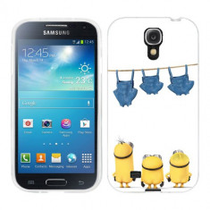 Husa Samsung Galaxy S4 i9500 i9505 Silicon Gel Tpu Model Naked Minions - Husa Telefon