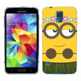 Husa Samsung Galaxy S5 G900 G901 Plus G903 Neo Silicon Gel Tpu Model Minion Girl