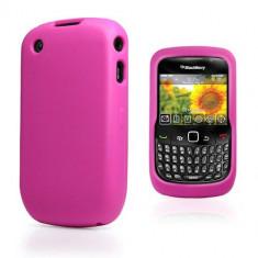 Husa Silicon BlackBerry Curve 8520 Roz