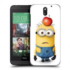 Husa HTC Desire 610 Silicon Gel Tpu Model Minions - Husa Telefon