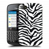 Husa BlackBerry Q10 Silicon Gel Tpu Model Animal Print Zebra