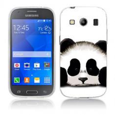 Husa Samsung Galaxy Ace 4 G357 Silicon Gel Tpu Model Panda Trist - Husa Telefon