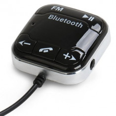Car Kit Handsfree Auto Bluetooth si Modulator FM cu Incarcator USB AL-060217-20 - HandsFree Car Kit