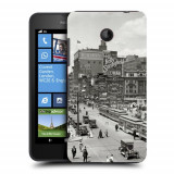 Husa Nokia Lumia 635 630 Silicon Gel Tpu Model Vintage City - Husa Telefon