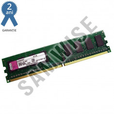 Memorie 1GB DDR2 667MHz PC2-5300 KINGSTON calculator desktop GARANTEI 2 ANI !!! - Memorie RAM
