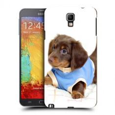 Husa Samsung Galaxy Note 3 Neo N7505 Silicon Gel Tpu Model Brown Puppy
