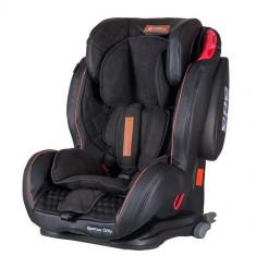 Scaun Auto Sportivo Only cu Isofix 9-36 kg Black - Scaun auto copii grupa 1-2-3 (9-36 kg) Coletto, 1-2-3 (9-36 kg), Negru, In sensul directiei de mers