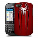 Husa BlackBerry Q10 Silicon Gel Tpu Model Spiderman