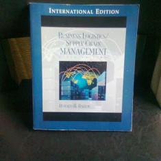 BUSINESS LOGISTICS. SUPPLY CHAIN MANAGEMENT - RONALD H. BALLOU - Carte Management