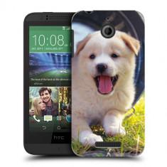 Husa HTC Desire 510 Silicon Gel Tpu Model Sweet Puppies - Husa Telefon