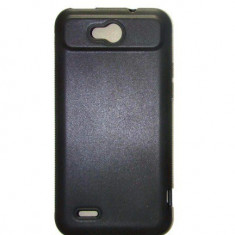Husa Gel Silicon ZTE Grand X Quad Matte Neagra - Husa Telefon