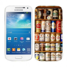 Husa Samsung Galaxy S4 Mini i9190 i9195 Silicon Gel Tpu Model Beer Cans - Husa Telefon
