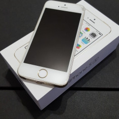 iPhone 5S Apple Gold, Auriu, 16GB, Neblocat