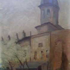 M. Vasilescu, Biserica - Pictor roman